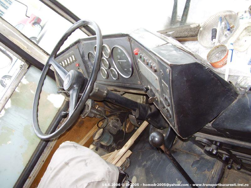 Bordul   Dacia 1100 Interior