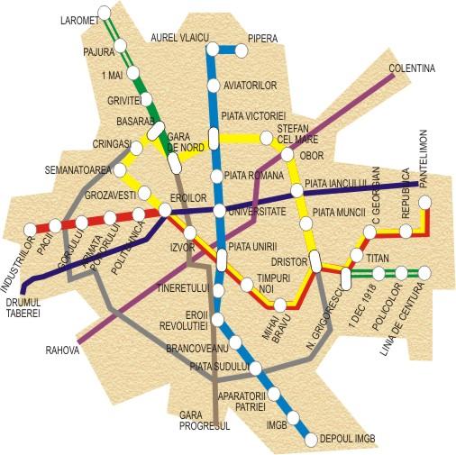 Tram Club Romania Vizualizare Subiect Hărţi Ale Reţelei De Metrou
