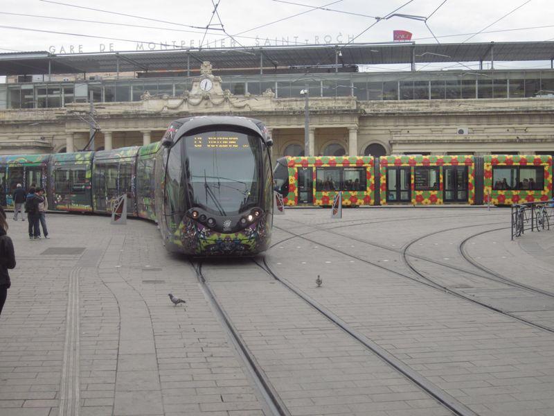 Tram club romania vizualizare subiect transportul n comun fotografii a - Vir transport montpellier ...